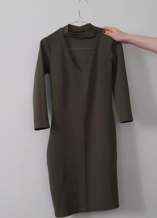 Плаття boohoo приталене