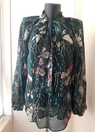 Блуза max&co с бантом