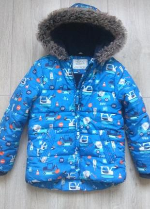 Куртка зимова для хлопчика типу next