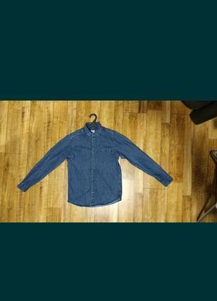 Рубашка джинсовая s size