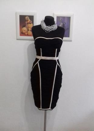 Очень крутое платье-бюстье в бельевом стиле