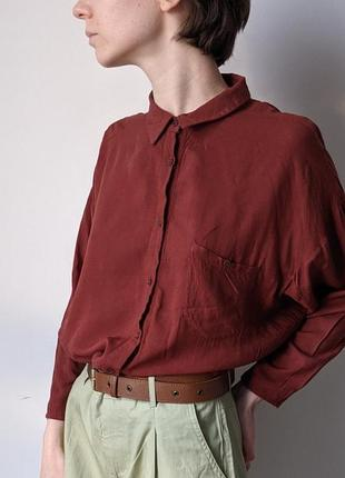 Рубашка со спущеным рукавом