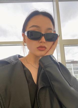Снова в наличии! трендовые винтажные солнцезащитные очки3 фото