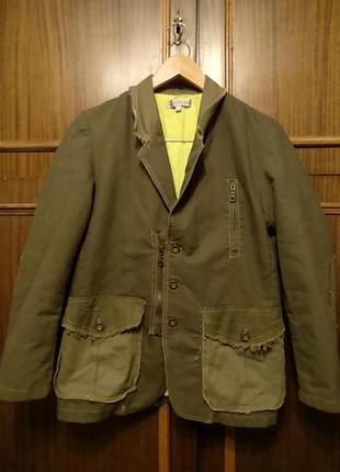 Очень стильный подростковый пиджак известного бренда детской одежды hohilino