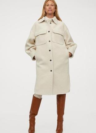 Пальто рубашка h&m