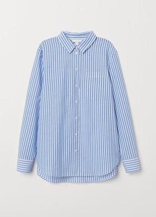 Рубашка в полоску хлопок