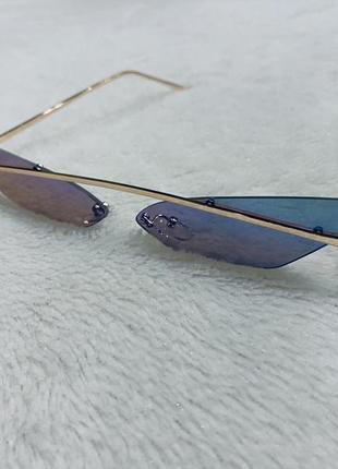 Солнцезащитные женские очки лисички