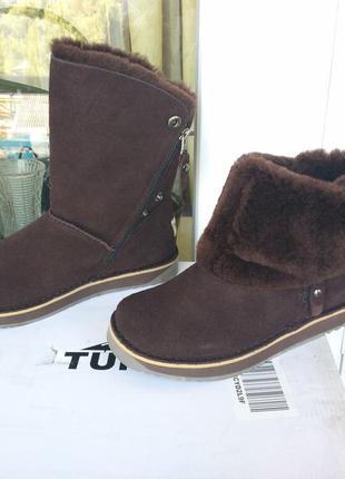 Женские зимние сапоги ботинки. размеры 36,40. из сша.