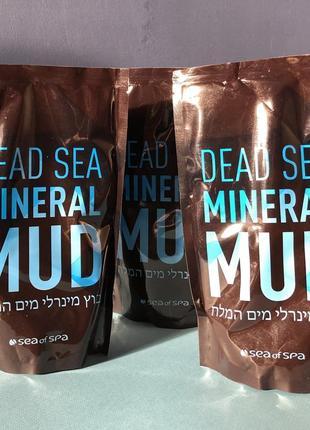 Минеральная грязь мертвого моря sea of spa с алое вера 600 гр