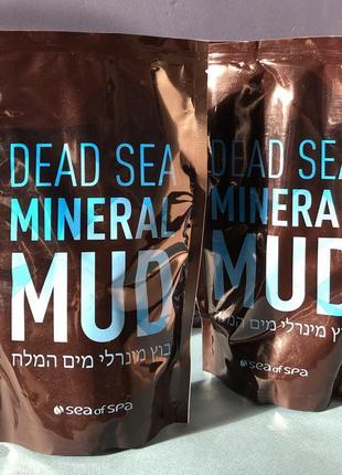 Минеральная грязь мертвого моря sea of spa 600 гр