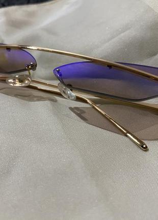 Женские очки лисички хамелеон