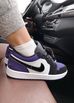 Женские кроссовки nk air jordan 1 retro low ★ наложенный платёж