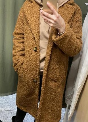 Эко шубка пальто