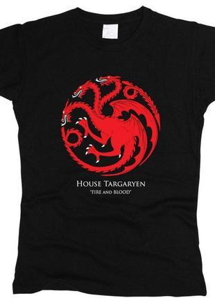 Новая футболка с принтом game of trons