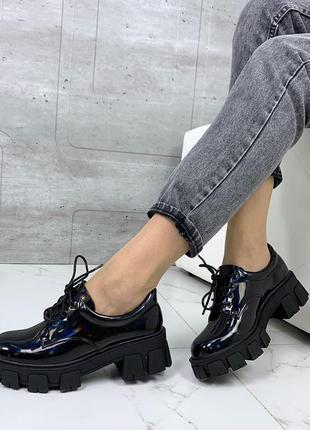 Женские туфли весна платформа