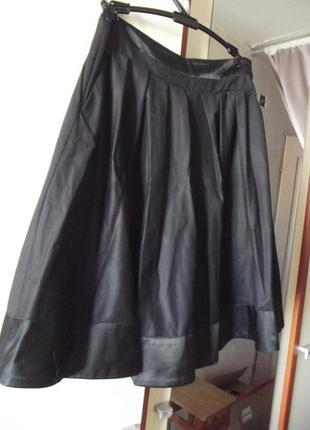 Школьная шикарная юбка от модного дома андре тан 11-12 лет