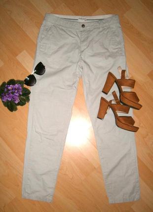 Классные штаны на лето натуральный хлопок от marks spencer