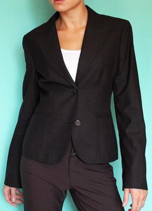 Пиджак костюмный коричневый школьный