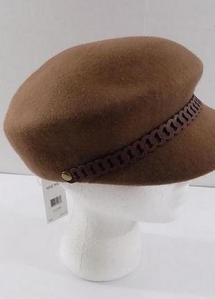 Шерстяная шапка кепка nine west