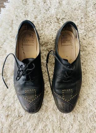 Кожаные туфли carnaby london
