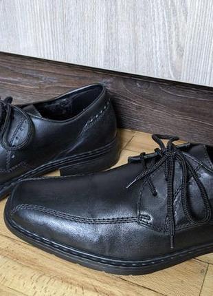 Туфли кожаные rieker