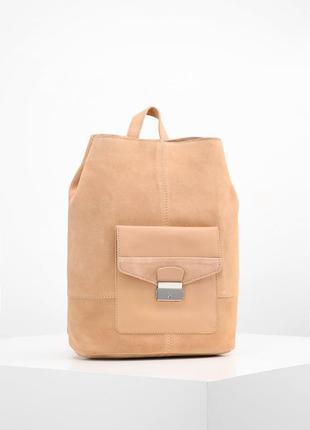 Нереально крутой рюкзак из натуральной замши - mint&berry- германия