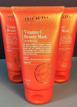 Маска sea of spa bio spa для красоты с витамином с 150 мл