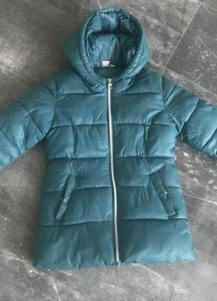 Куртка пальто удлиненная демисезонная ido р128