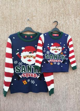 Family look светр новорічний свитер новогодний
