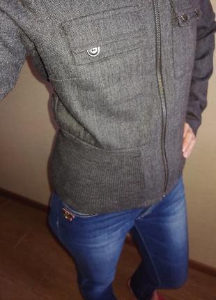 Куртка пиджак бомбёр mexx s