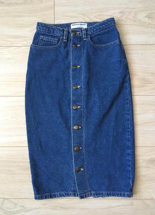 Джинсовая юбка american apparel