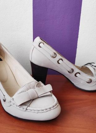 Туфли женские натуральный нобук vogabond