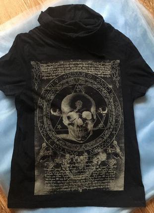 Черная футболка от burton