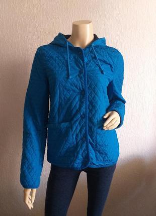 Голубая куртка topshop