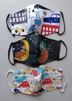 Детские маски для мальчиков на 5-7 лет
