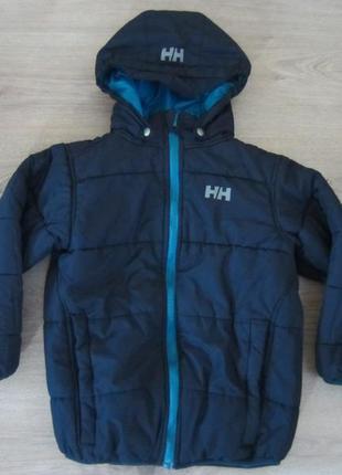 Куртка двухсторонняя helly hansen на 7 лет