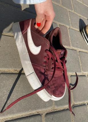 Nike оригинал кроссовки замшевые