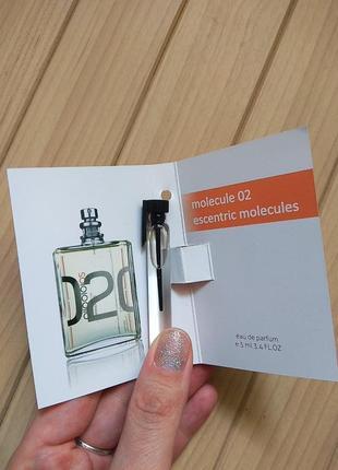 Духи парфюм аромат пробник molecule 02 от escentric molecules ☕ объём 5мл