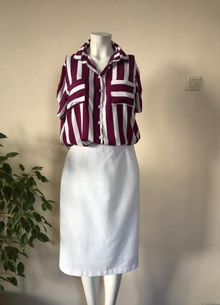 Блузка в полоску,рубашка в полоску,блузка удлиненная