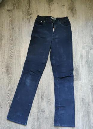Велюровые джинсы