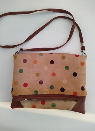 Милая сумочка в горошек