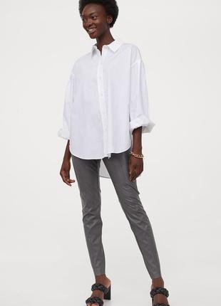 Модные легинсы h&m с высокой талией