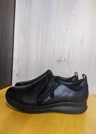 Кроссовки туфли кожаные clarks