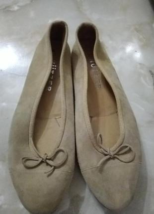 Туфли кожаные женские 37,5
