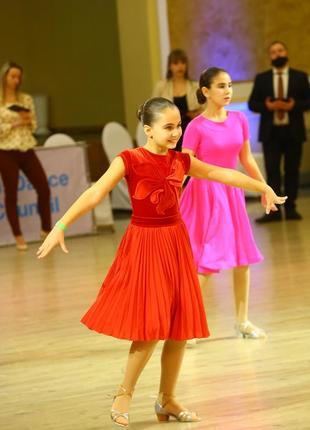 Платье бейзик для бальных танцев