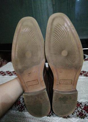 Туфлі чоловічі venice4 фото
