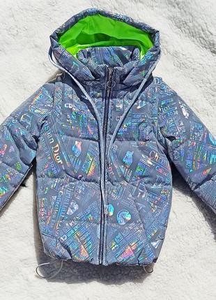 Светоотражающая куртка жилет для девочки