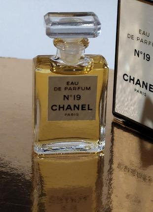 Шанель 19 миниатюра оригинал chanel.франция edp