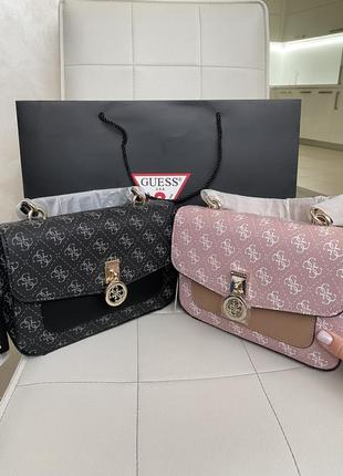Новая сумка из америки (чёрная и розовая)