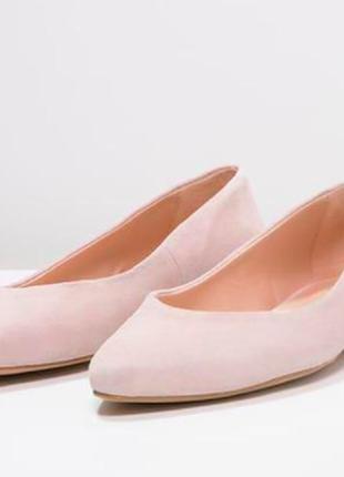 Балетки туфли лодочки на узкую ногу zalando iconics